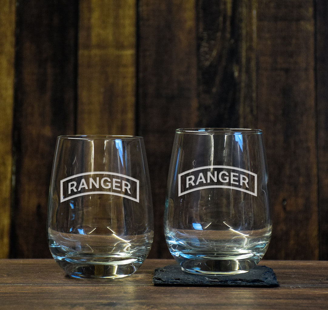 Ranger Tab Wine Glass Set