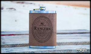 Ranger Guinness Leather Flask