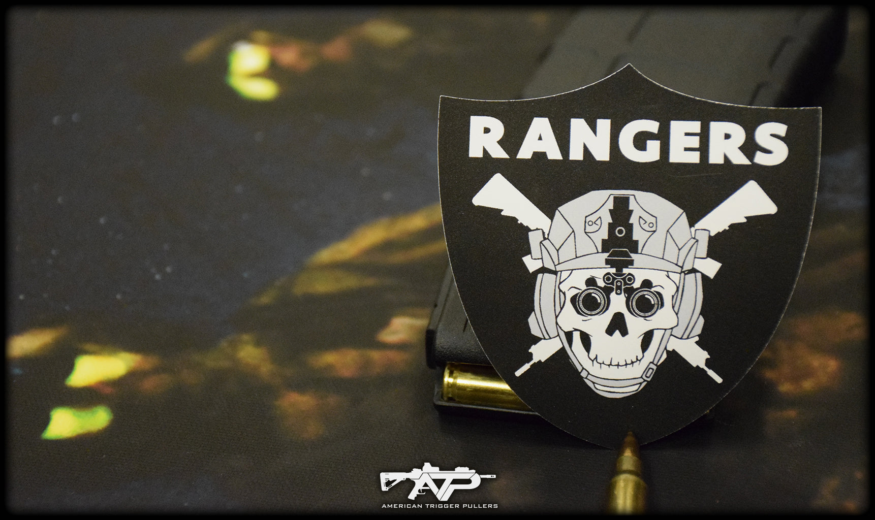 Ranger Raider Vinyl Sticker