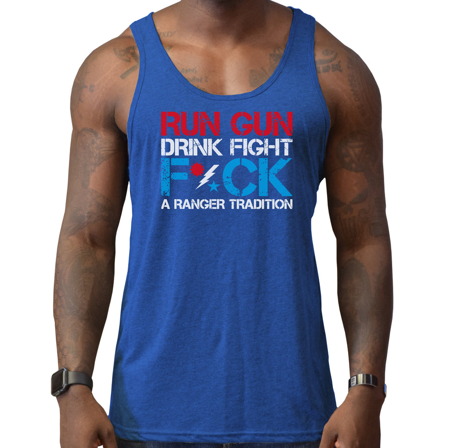 Run Gun Ranger 4th July Tank
