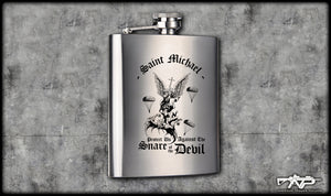 Saint Michael Flask