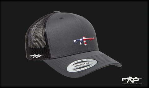 Flag Rifle Mesh Cap