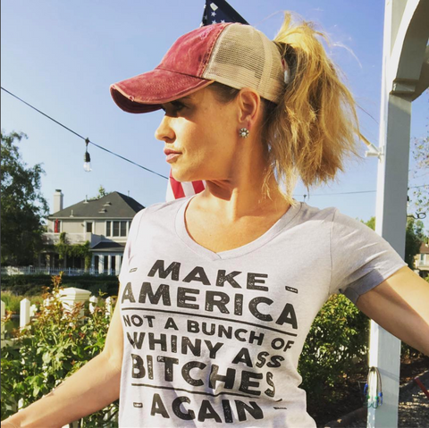 Make America - Ladies V-Neck