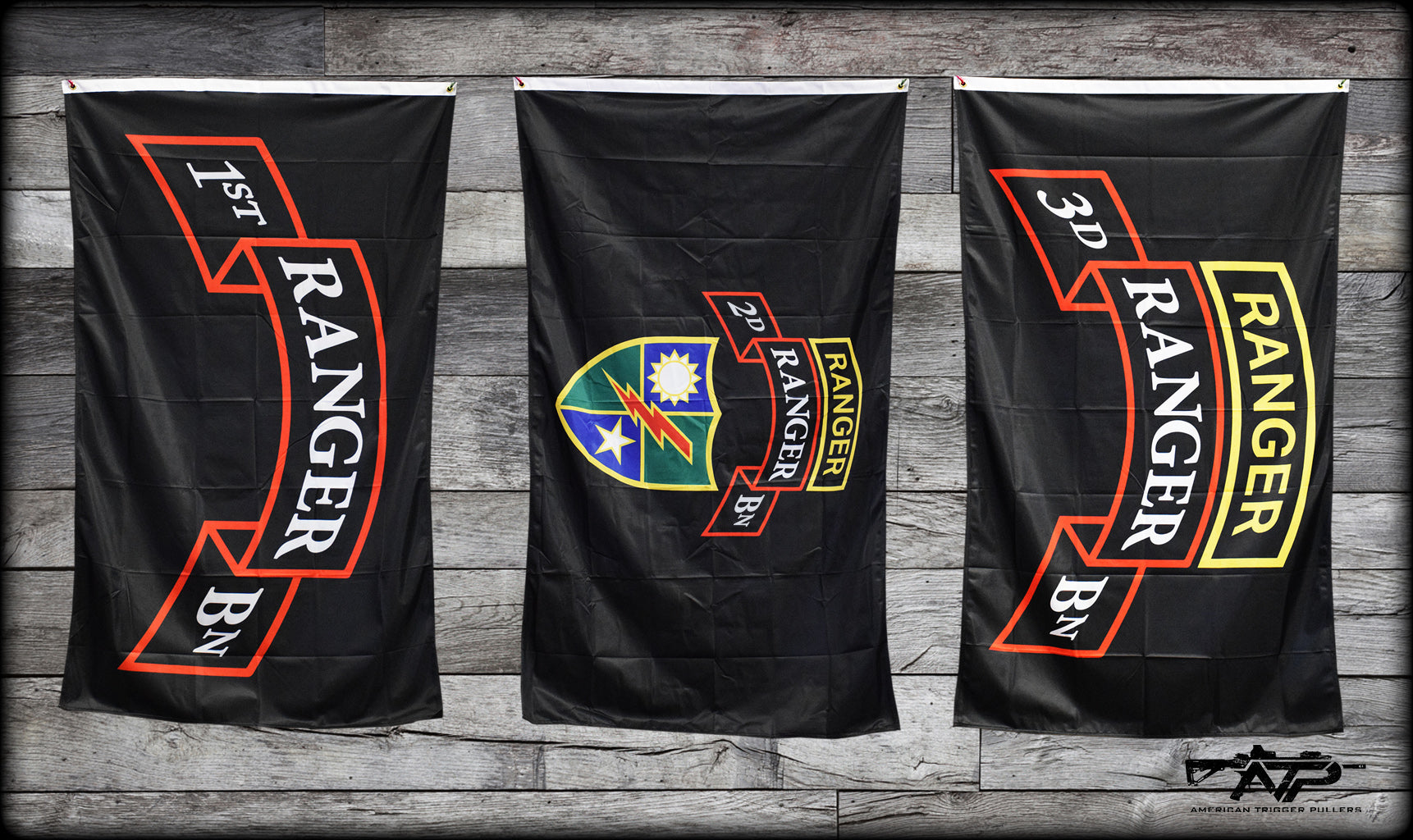 Ranger Scroll Flags
