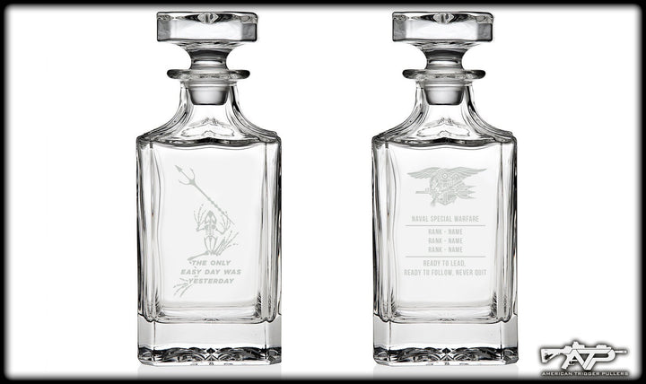 SEAL Whiskey Decanter