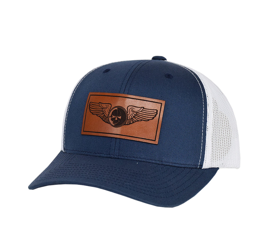 Sensor Wings Leather Snap-Back