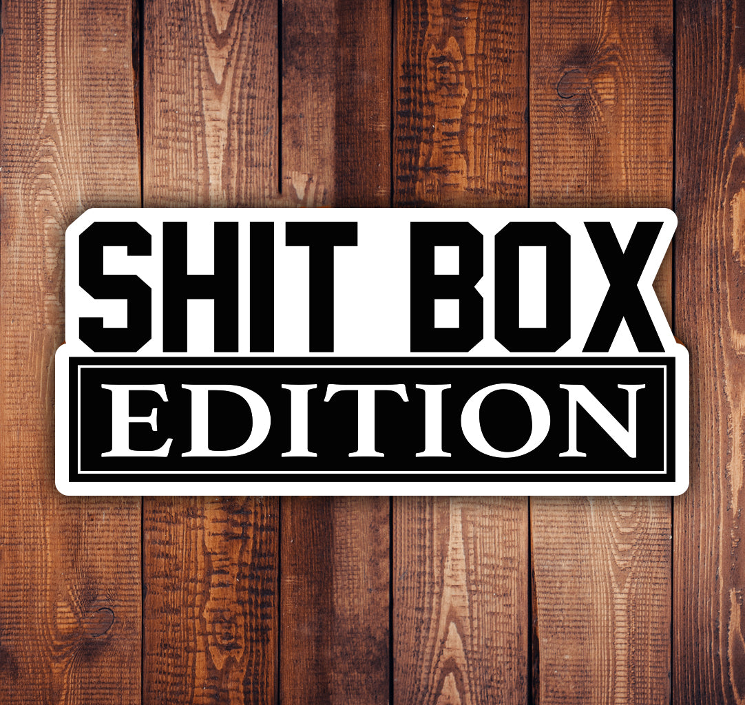 Shit Box Edition Sticker