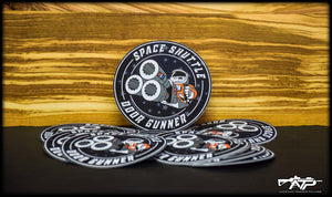 Space Shuttle Door Gunner Sticker