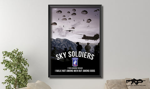 Sky Soldier Canvas