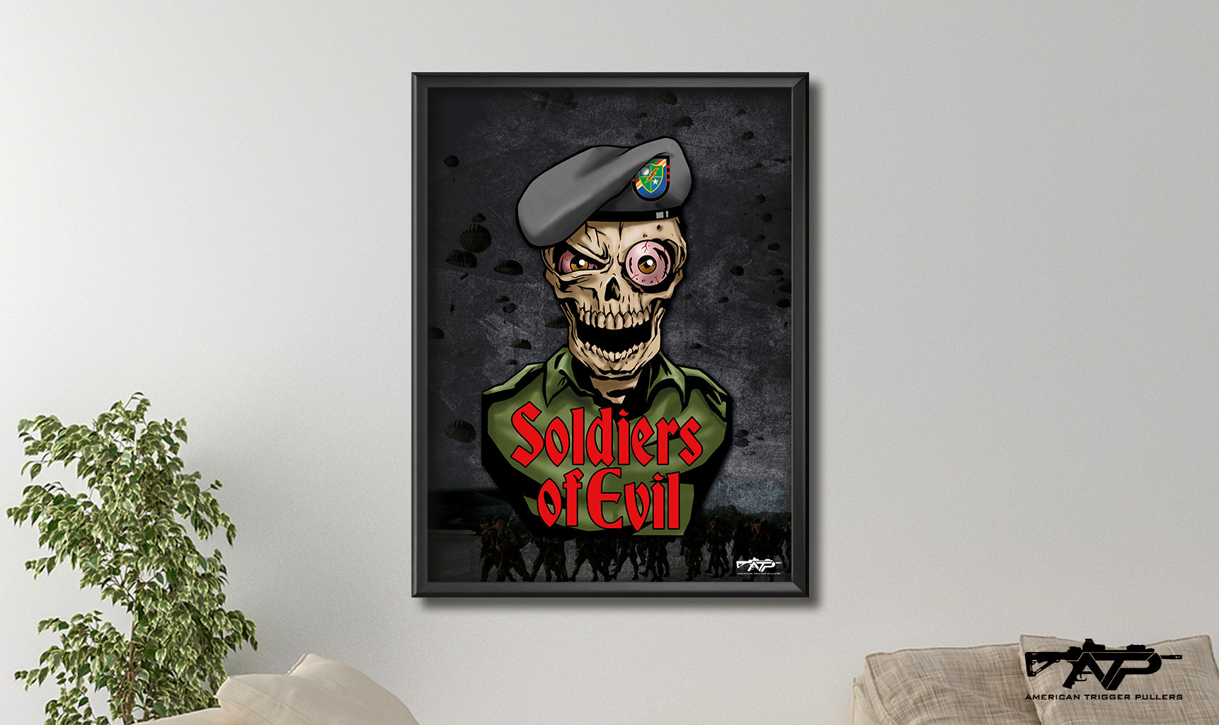 Soldiers of Evil Canvas