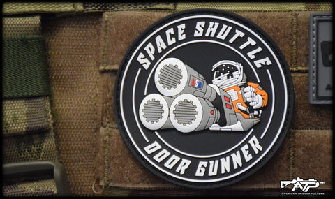 Space Gunner PVC Patch