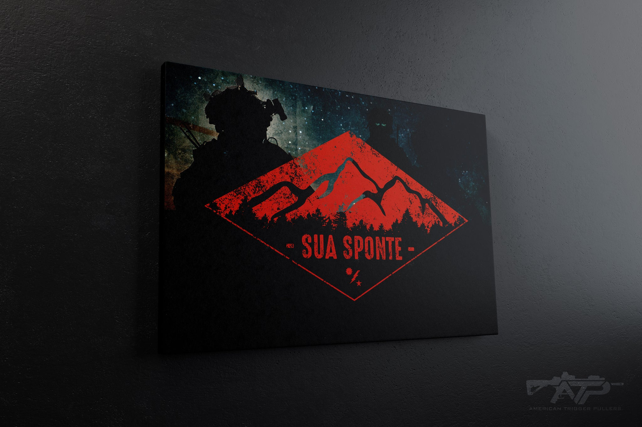 Sua Sponte Diamond Canvas