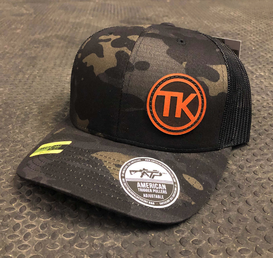 TK Circle Leather Snap Back