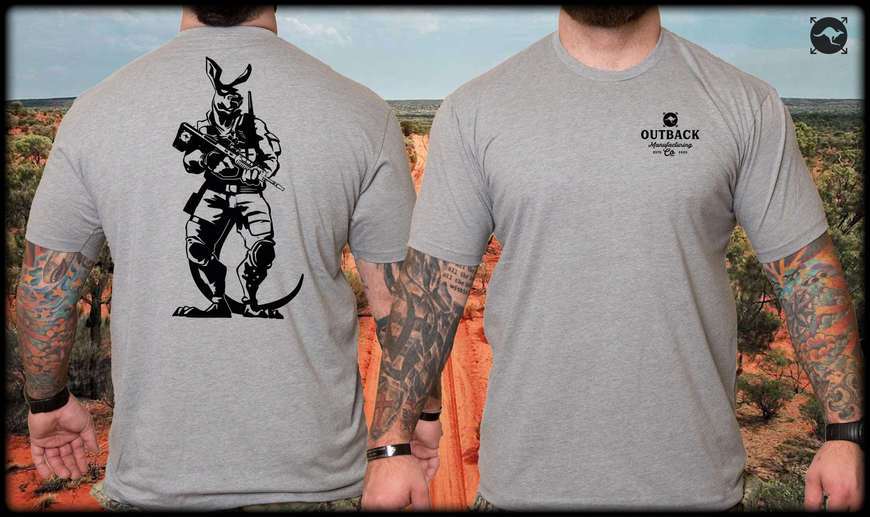 Tactical Kangaroo Shirt