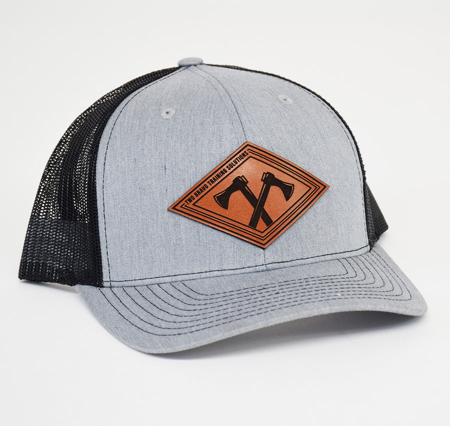 Two Bravo Leather SnapBack