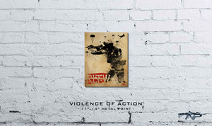 Violence of Action Metal Print