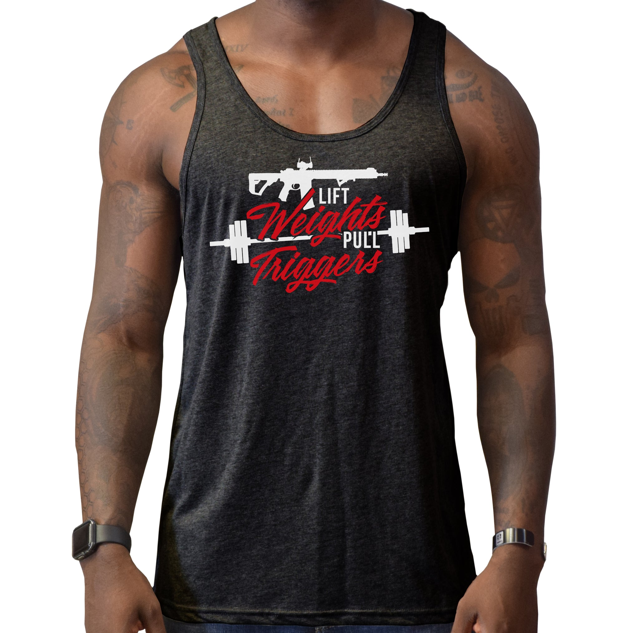 Lift Weights Tank