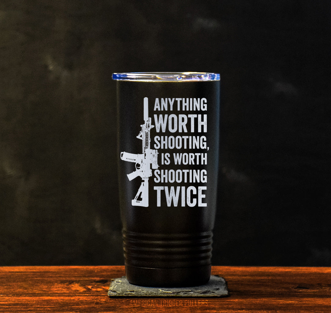 Shoot Twice Tumbler