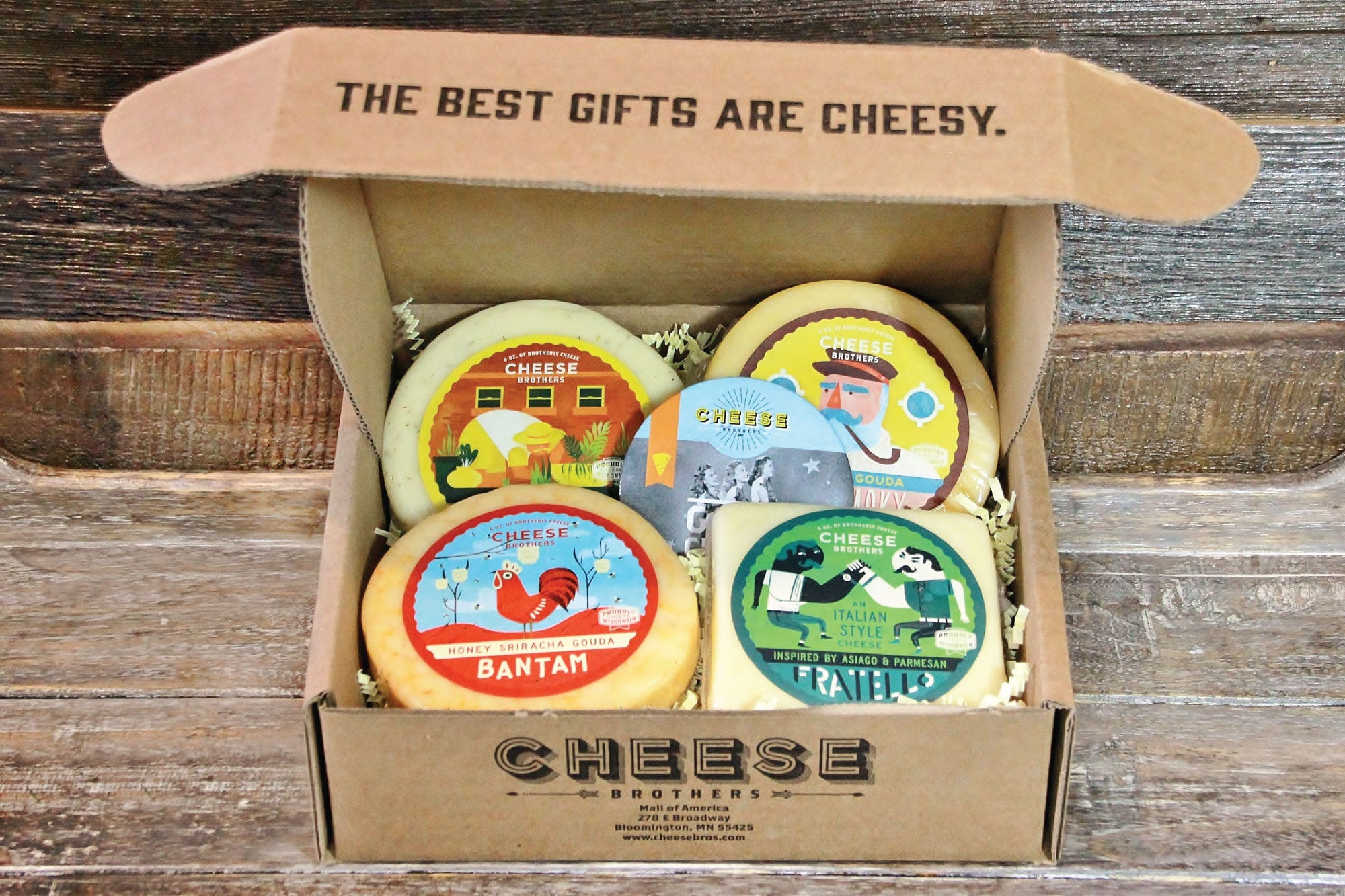 Wisconsin Cheese Sampler Pack