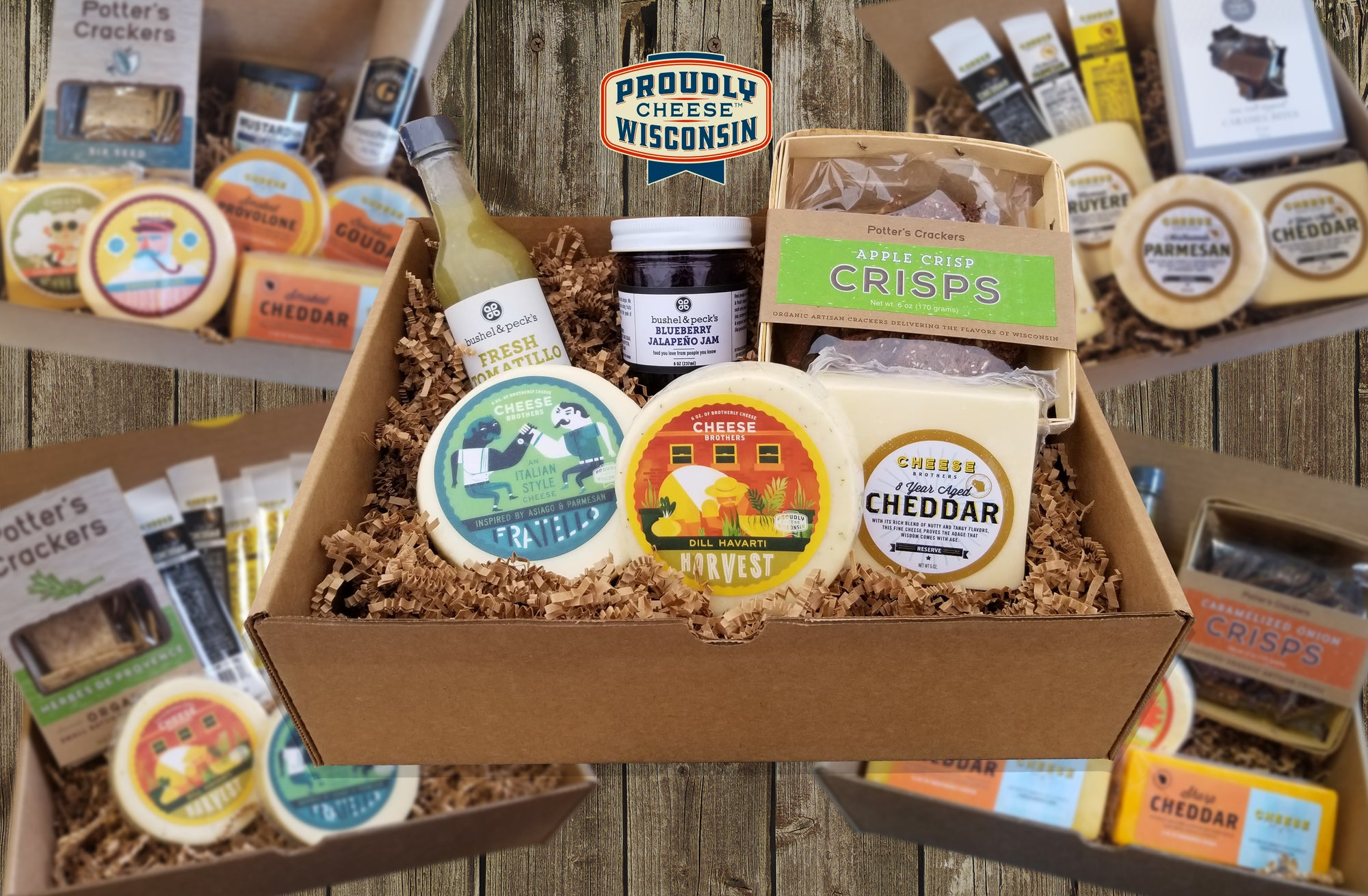 Wisconsin Cheese and Treats Subscription Box