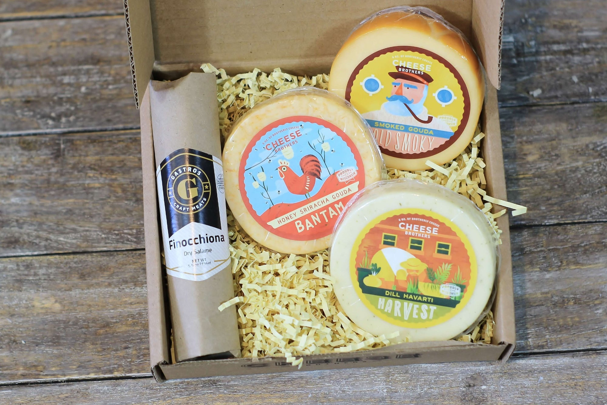Meat and Cheese Sampler Pack