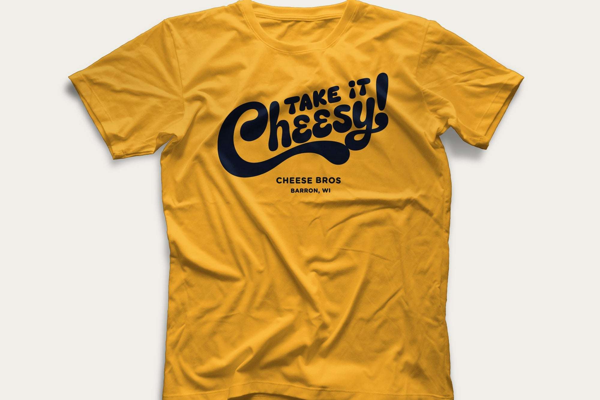 Take It Cheesy Tee