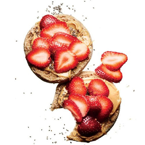 Breakfast Berry english muffins