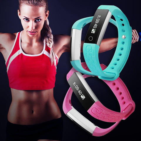 Get fit fast using your fitness tracker Dayfit Fitness smartband