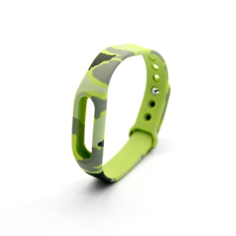 Camouflage Silicone Interchangeable Band for Xiaomi Smart Bracelet