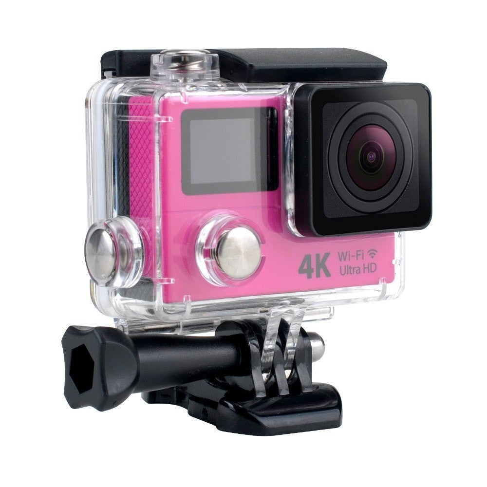 Procam R4 Remote Action Camera Ultra HD 4K - WIFI 12MP 2 in. Dual Screen + Multimode Remote Control - By Epiktec - FitShopPro.com - 5