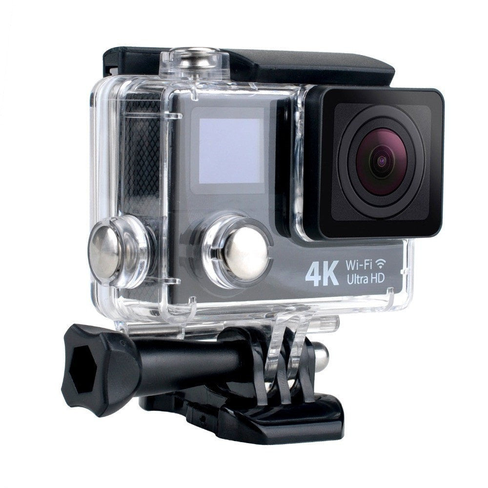 Procam R4 Remote Action Camera Ultra HD 4K - WIFI 12MP 2 in. Dual Screen + Multimode Remote Control - By Epiktec - FitShopPro.com - 2