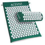 Acupressure Mat Relieve Stress Pain - Spike Yoga Mat with Pillow