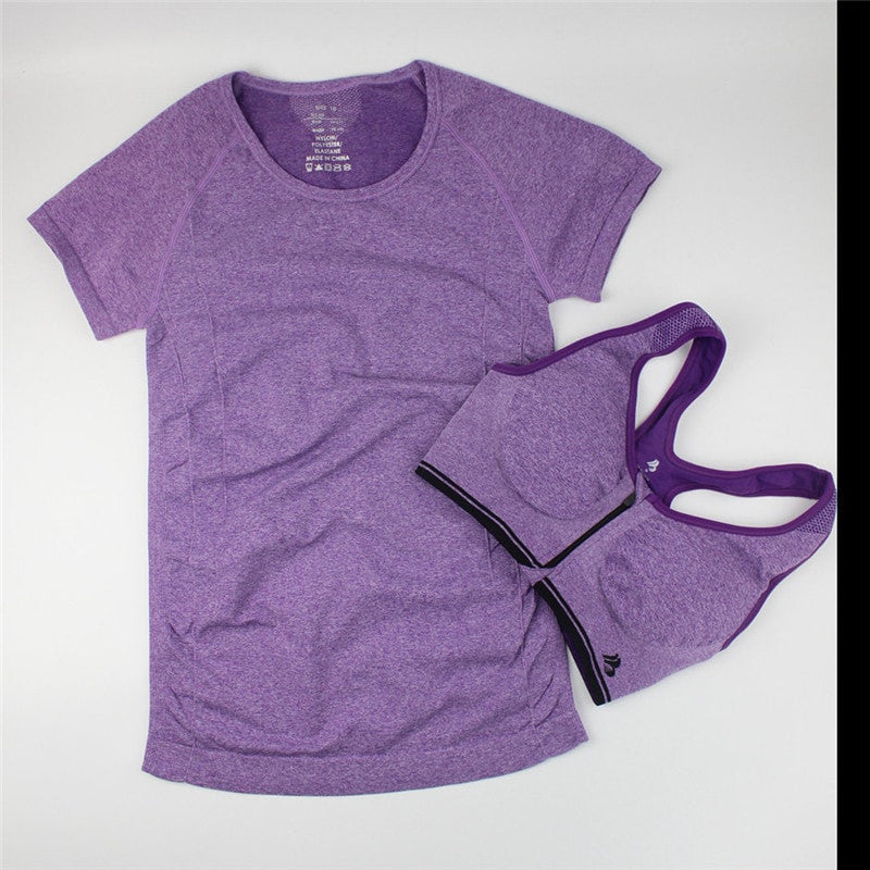 BUNDLE:Casual Women Shirt + Fast Drying Zipper Sport Bra - FitShopPro.com - 4