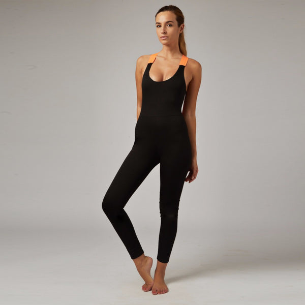 Sexy Crisscross Back One-piece Yoga  Sportswear