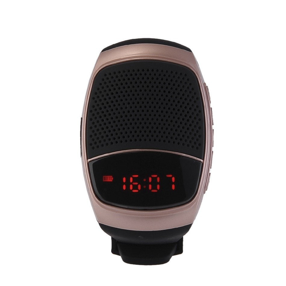 Wireless Speaker Watch with LED Display