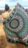 Indian Print Mandala Beach Blanket