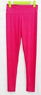 Candy Color Fitness Leggings - Super Elastic Sport Pants- Running /Training /Gym /Yoga - FitShopPro.com - 11