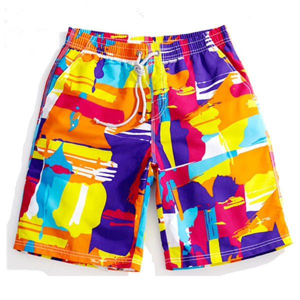 Colorful Swim Surf Shorts