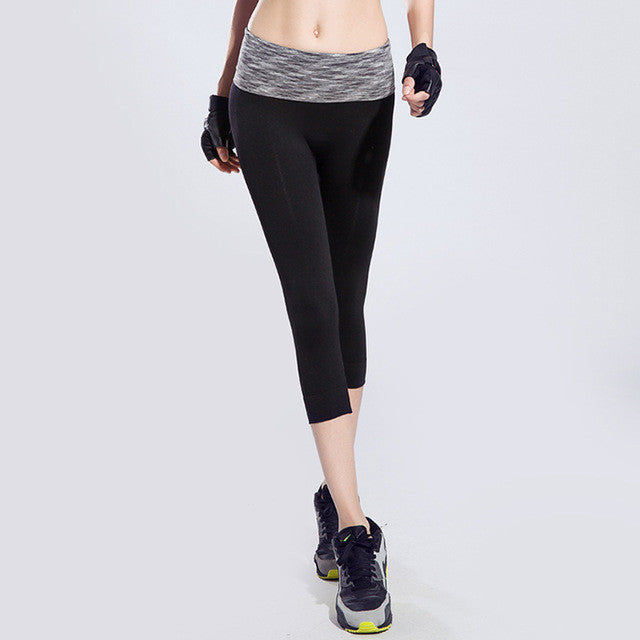 Tight Slim Women Colorful High Waist Elastic Fitness Legging