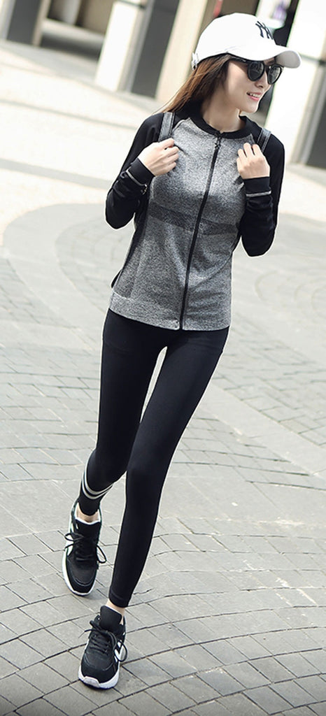 Casual Zip Up Sport Light Jacket - FitShopPro