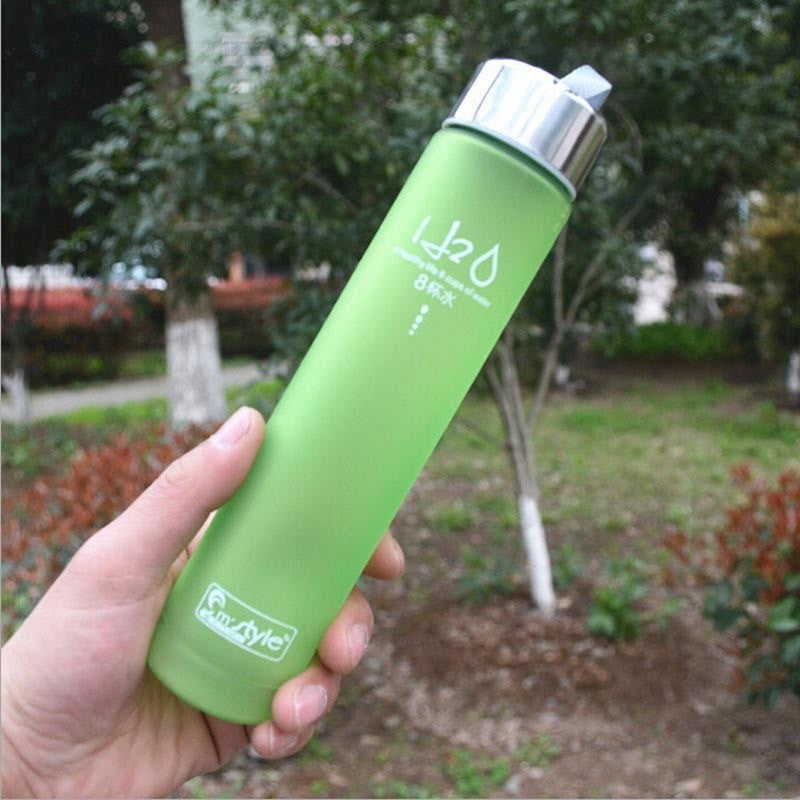 Colorful Portable Unbreakable Plastic Water Bottle - FitShopPro