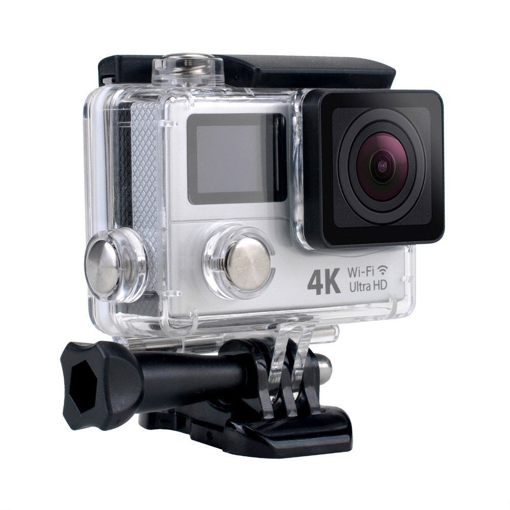 Procam R4 Remote Action Camera Ultra HD 4K - WIFI 12MP 2 in. Dual Screen + Multimode Remote Control - By Epiktec - FitShopPro.com - 4