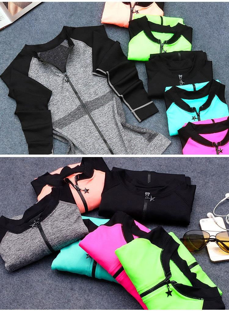 Casual Zip Up Sport Light Jacket