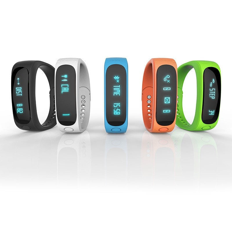 Sport Silicone Smart Bracelet for IOS/ Android
