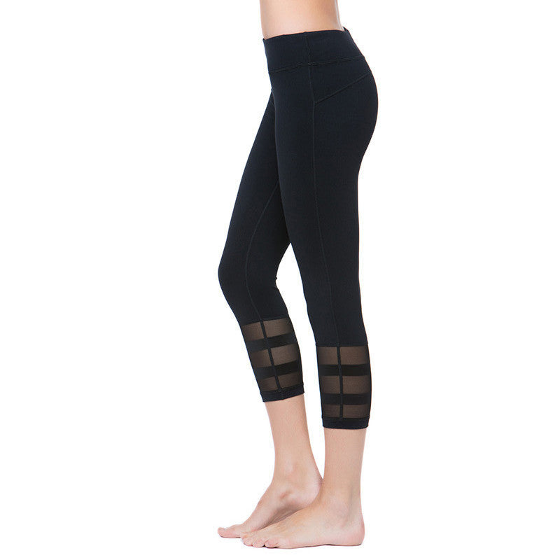 Sexy Summer Mesh High Elastic Fitness Leggings