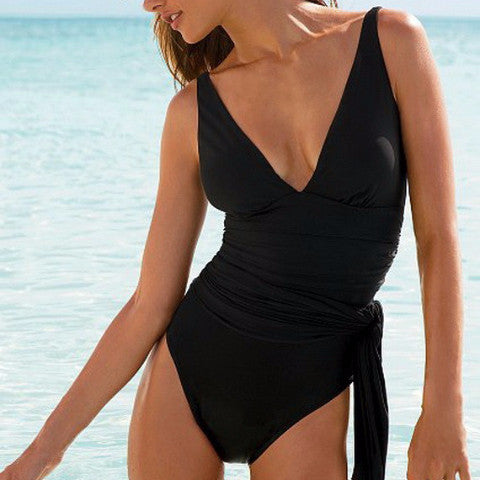 Sexy Plus Size One Piece Swimsuit Dress