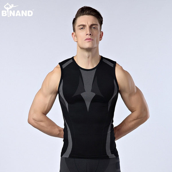 Men Body Slimming Shaper Tank-Top - FitShopPro
