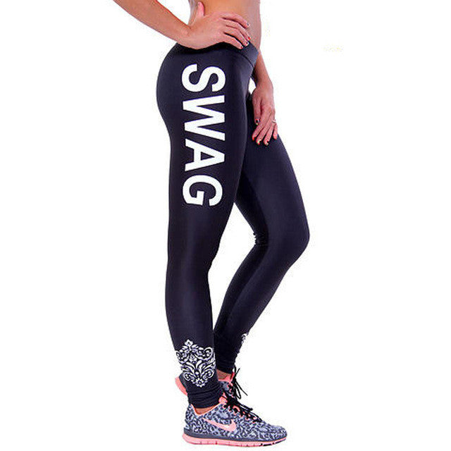 Women Yoga Pants Fitness Leggings FitPro SWAG