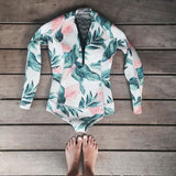 Julie - Surf Long Sleeve Swimsuit