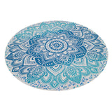 Printed Degrade Mandala Round Blanket